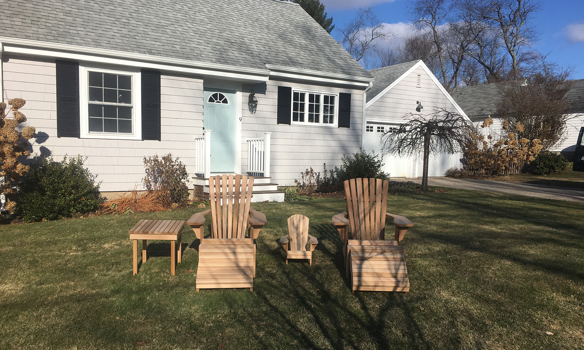 Adirondack Chairs Hand Crafted Solid Wood