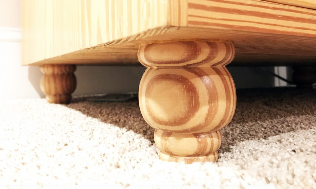 Gary Hecht Woodworker Custom Lathe Turned Foot Detail